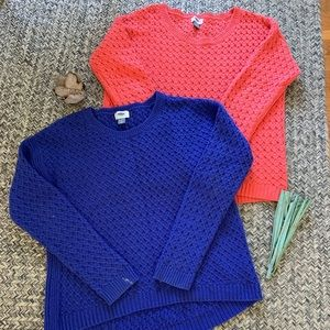 Bundle of Old Navy sweaters
